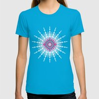 Diamond Womens Fitted Tee Teal SMALL