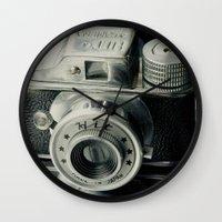 Hit Vintage Camera Wall Clock