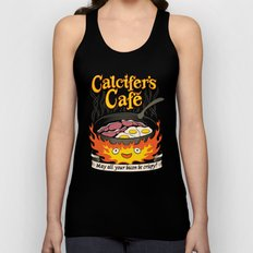 Calcifer's Cafe Unisex Tank Top