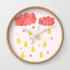 Fly me to the moon Wall Clock