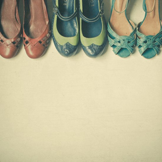 The Shoe Collection Art Print