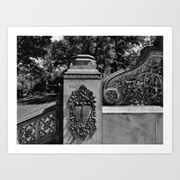 'CENTRAL PARK' Art Print
