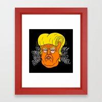 Big Thinker Framed Art Print