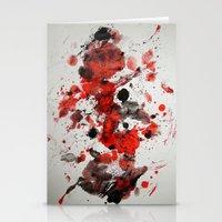 Acryl-Abstrakt 29 Stationery Cards