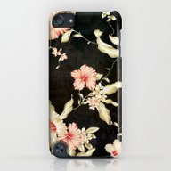VINTAGE FLOWERS III - Fo… iPod touch Slim Case