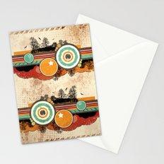 Retro Mash Up. Stationery Cards