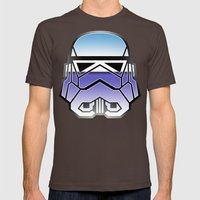 Trooper in disguise Mens Fitted Tee Brown SMALL