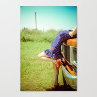 Pin-Up. Canvas Print