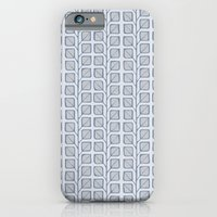 Into the Woods Leaves grey iPhone 6 Slim Case