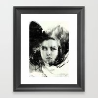 White Blood Cell Framed Art Print