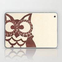 Retro Owl Laptop & iPad Skin