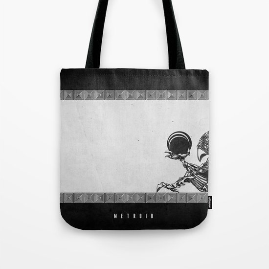 Metroid - The Chozo Geek Line Artly Tote Bag