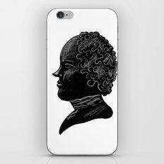 Silhouette of a Gentleman iPhone & iPod Skin