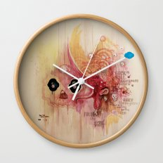 Outerspace Rock`n´Roll Unicorn Wall Clock