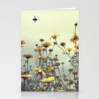 a spring clean for the May queen Stationery Cards