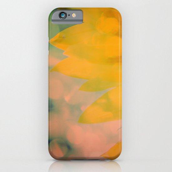 Sunflower III (mini series) iPhone & iPod Case