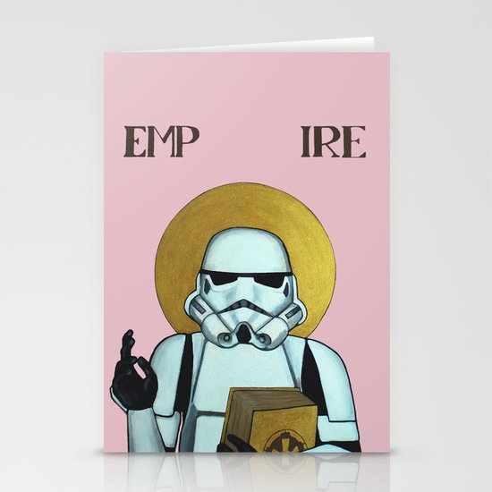 """EMPIRE"" - Star Wars, Stormtrooper Stationery Card"