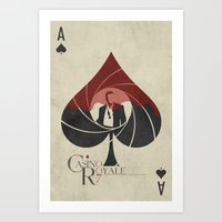 Casino Royale Minimalist Art Print