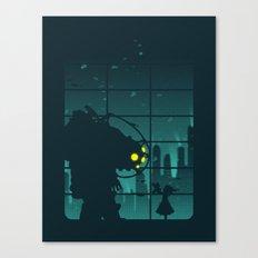Come on, Mr. Bubbles! Canvas Print