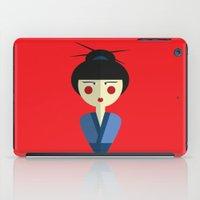 Japanese Doll iPad Case