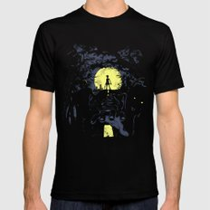 Last Living SMALL Mens Fitted Tee Black