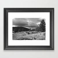 Storm Rising In The Cuya… Framed Art Print