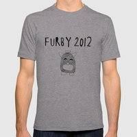 Furby 2012 Mens Fitted Tee Athletic Grey SMALL