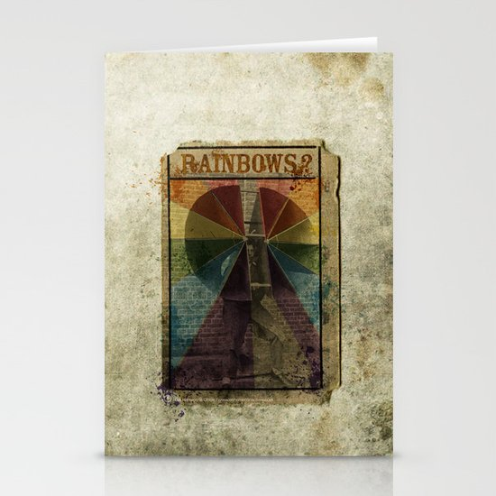 Rainbows ? Stationery Card
