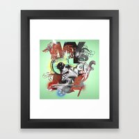 My Oh My Pt. II Framed Art Print