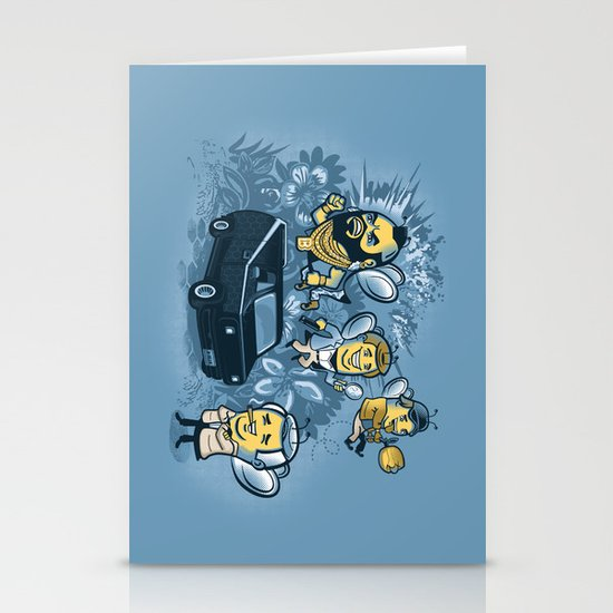 Bee Team 2 Stationery Card