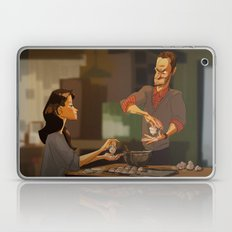 Elementary - new years! Laptop & iPad Skin