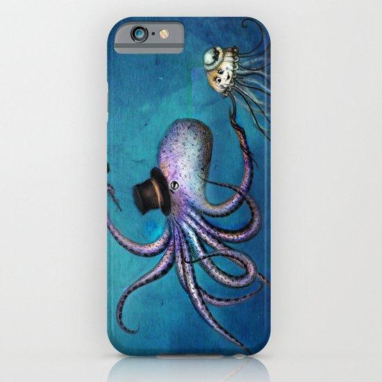 Underwater Love // octopus jellyfish iPhone & iPod Case