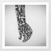 Bonebreathing III Art Print