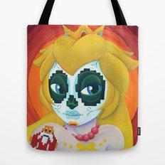 Day of the Digital Dead Princess Peach Tote Bag