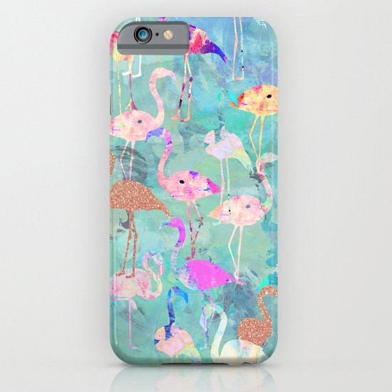 Flamingo Party  iPhone & iPod Case