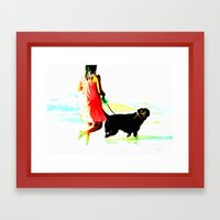 Untitled, Oct. 2012 Framed Art Print