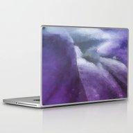 Inside The Purple Flower… Laptop & iPad Skin