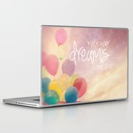 Make Your Dreams Come Tr… Laptop & iPad Skin