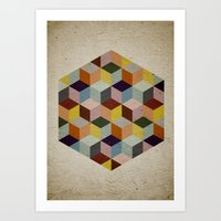 Dimension Art Print