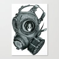 Where's My Mummy Canvas Print