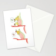 The story of the Chicken Frog Stationery Cards