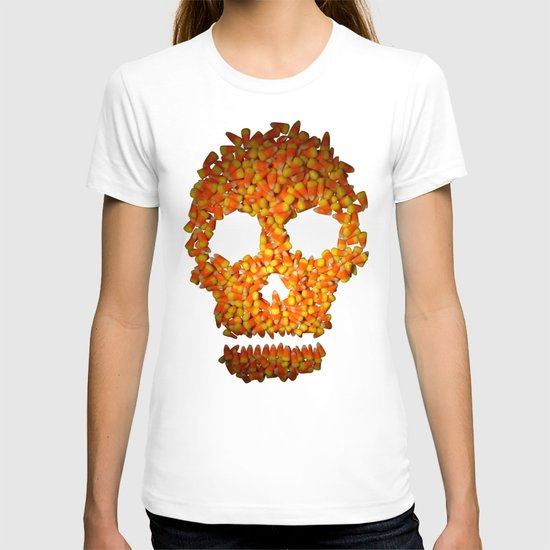 Candy Corn Skull T-shirt