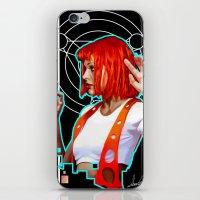 Leeloo iPhone & iPod Skin