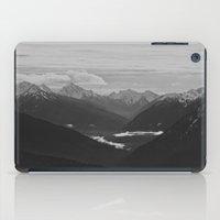 Mountain Landscape Black… iPad Case