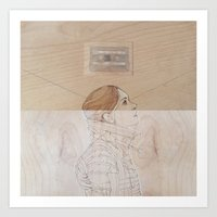 Because My Love For You (Would Break My Heart in Two) Art Print