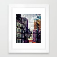 The Rooftop #2 Framed Art Print