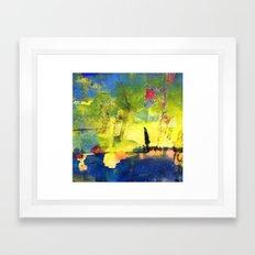 Meditation . Framed Art Print