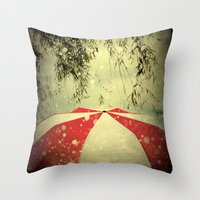 It Can't Rain All The Ti… Throw Pillow