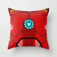IRON MAN Iron Man Body A… Throw Pillow