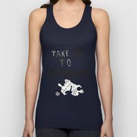 Take me to Neverland  Unisex Tank Top